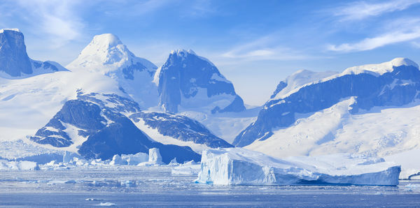 Valentine's Day Over Antarctica Flights holiday experience