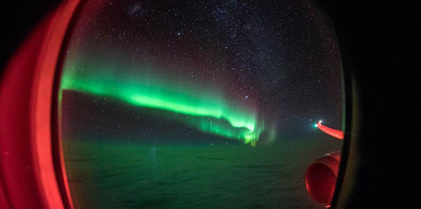 Southern Lights by Flight